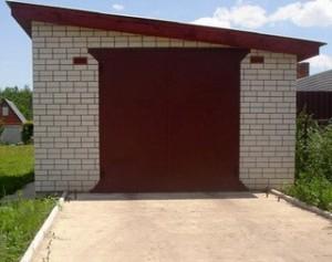постройка гаража