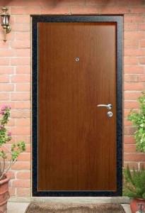 Металлические двери с ламинированным покрытием: эстетично и недорого